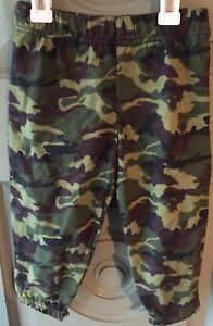 Camouflage-Baby-Boy-Joggers-Size-2T-Pants-Sweatpants-Camo-Stretch-Waist-Green
