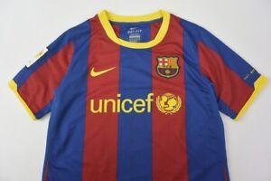 Image is loading BARCA-2010-2011-Nike-FC-Barcelona-Home-Football- 1b74a2bc3