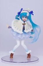 """Vocaloid Hatsune Miku Winter wear ver.  6"""" PVC Figure Taito (100% authentic)"""