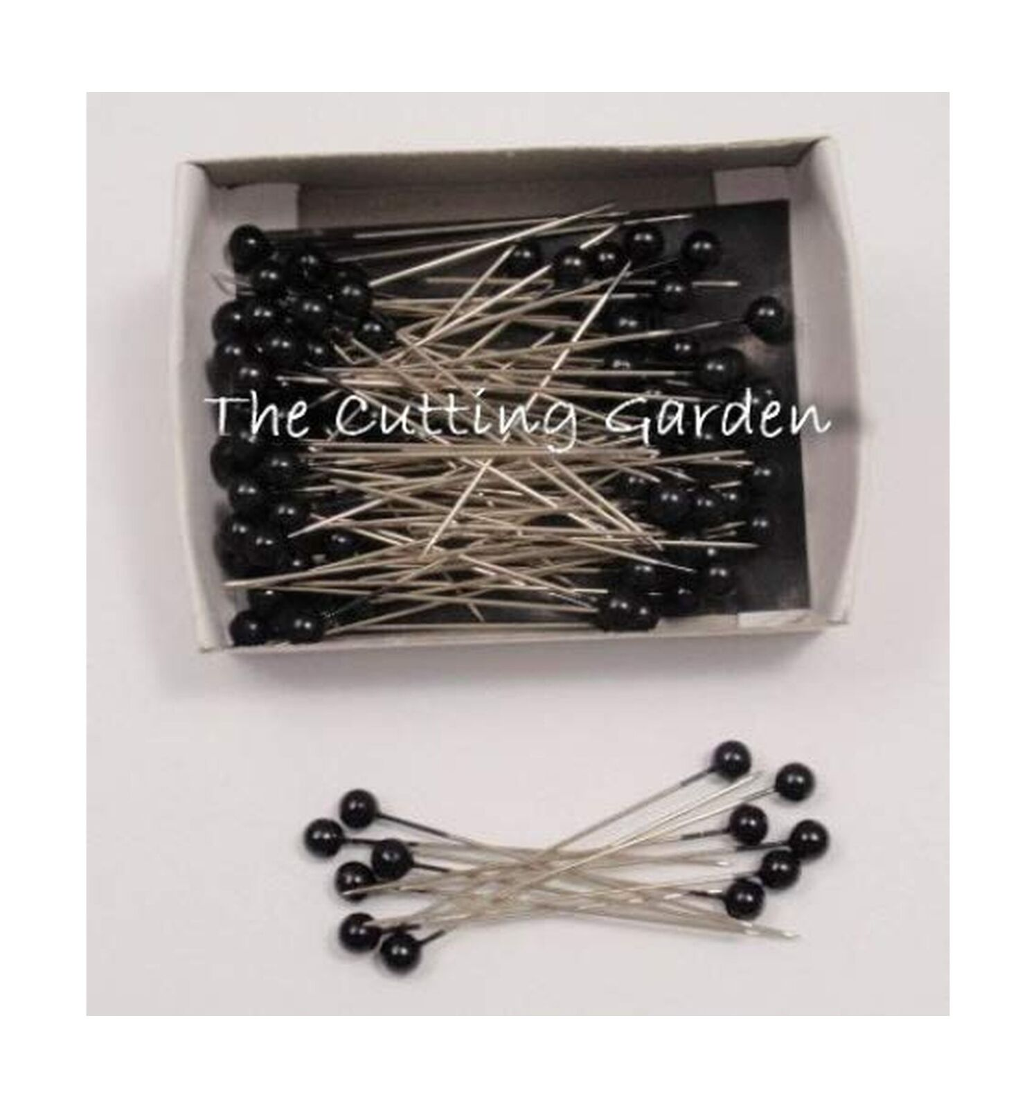 Lomey Teardrop Black Corsage Boutonniere Pins 2 Pk//144