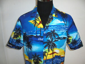 Vintage Royal Creations Hawaiian Shirt hawaii Hemd surfer hawaiihemd XL