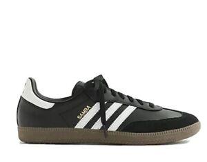 J Crew Adidas Samba Sneaker Black/White