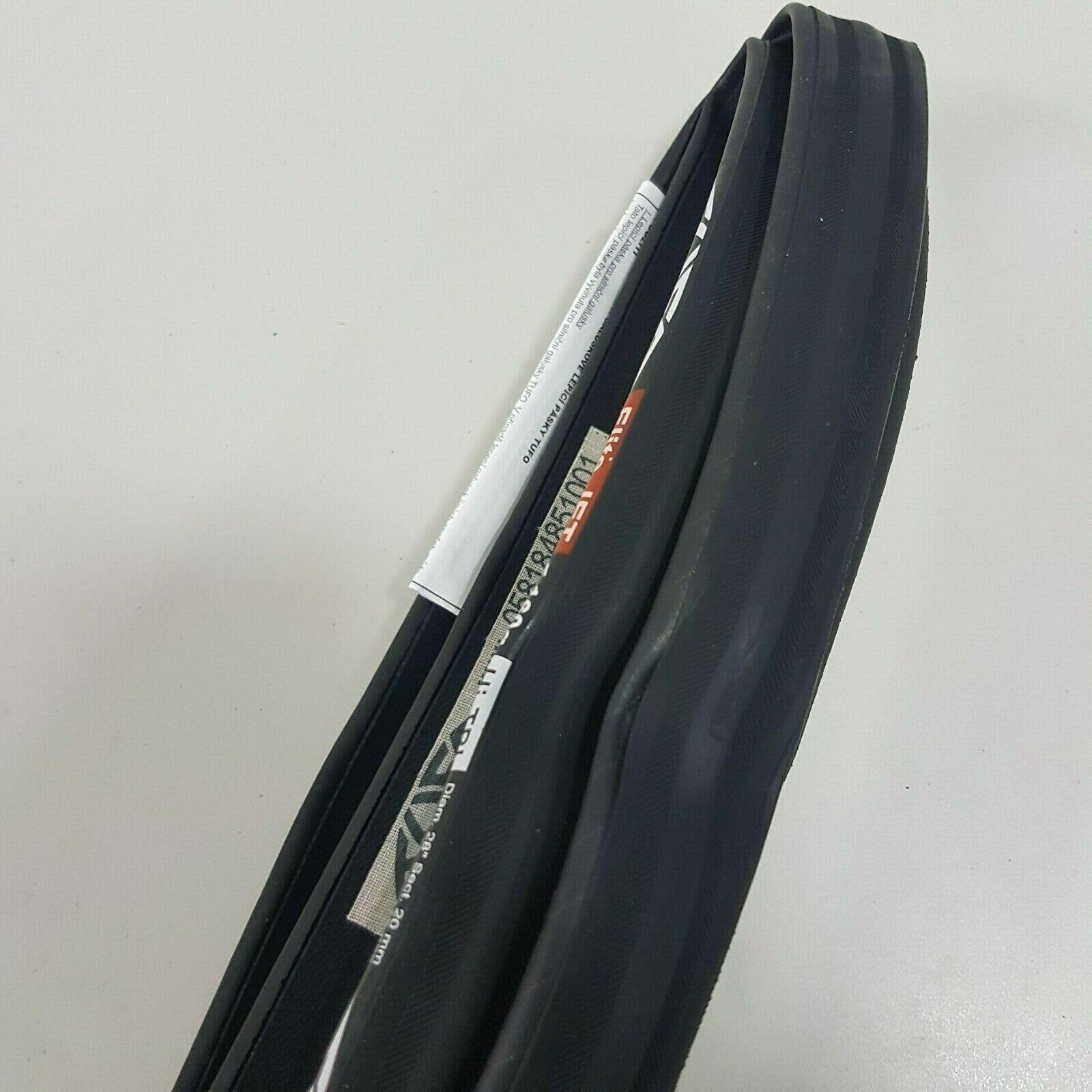 "Pair Tufo Elite Jet 28/"" 20mm 700x20c TT //Road Races Tubular Bicycle Tyre  160"