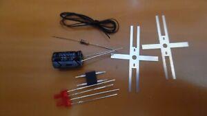 lot-ho-2-kit-ECLAIRAGE-FIN-DE-CONVOI-led-2mm-canon-long-train-electrique