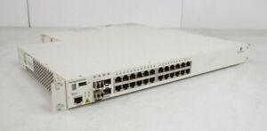 Alcatel-OmniSwitch-6400-P24-24x-PoE-RJ45-4x-SFP-Gigabit-Switch-2x-PSU