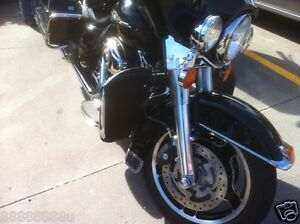 HARLEY-FLH-ROADKING-STREETGLIDE-ENGINE-GUARD-SOFT-LOWERS-1-QUALITY-amp-WARRANTY