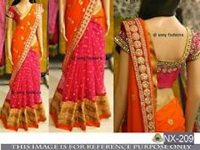 Designer Party Wear Wedding Indian Lehenga Saree Sari Bollywood Ethnic Lehenga