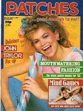 Patches Magazine 9 April 1983 No. 214       John Taylor of Duran Duran