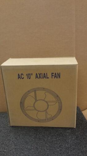 """TEI Model TA8545-H-110-BAT 100//120VAC 60//70 Watt AC 10/"""" Ball Bearing Axial Fan"""