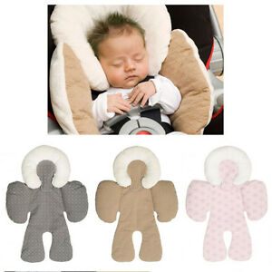 Details About Two Sided Newborn Baby Head Body Support Infant Pram Stroller Car Seat Pillow