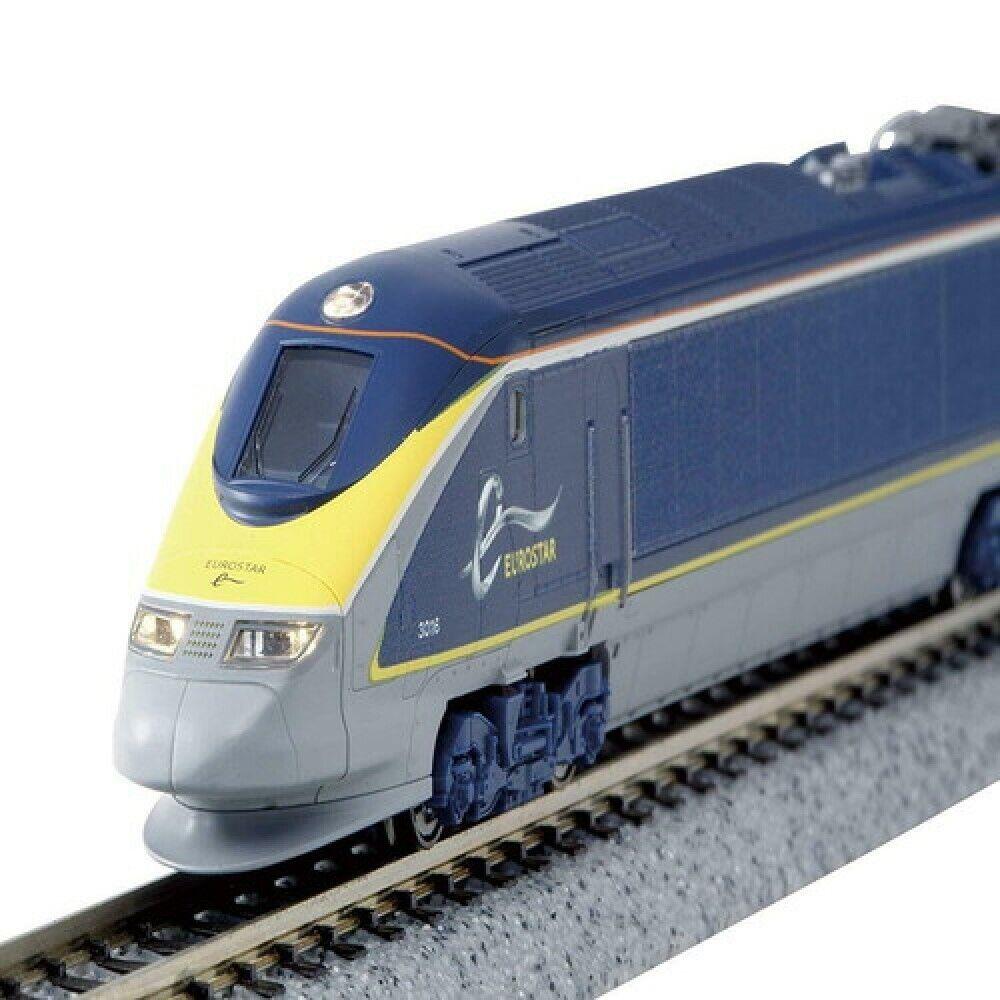 Kato N Calibre 10-1297 EuroEstrella TM e300 EuroEstrella Nuevo Color Básico 8-Coche Conjunto Azul