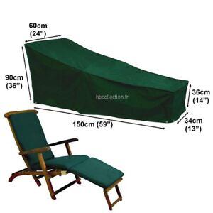 Housse Pour Chaise Longue Steamer 150cm Gamme Confort