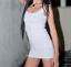 Sleeveless-Long-Line-Top-Dress-Midi-Vest-Bodycon-Women-039-s-Ladies-Micro-Mini-Dress thumbnail 1
