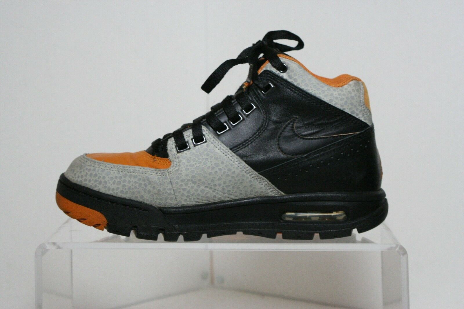 340bb8225e89 ... Nike Air Max Worknesh Worknesh Worknesh VTG 2009 High Men 8 Multi  Orange Cement Black Athletic ...