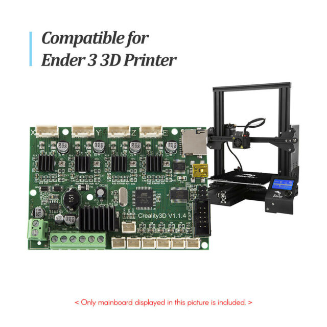 Creality 3D Printer Ender 3 Mainboard Motherboard Replacement Control Board 24V
