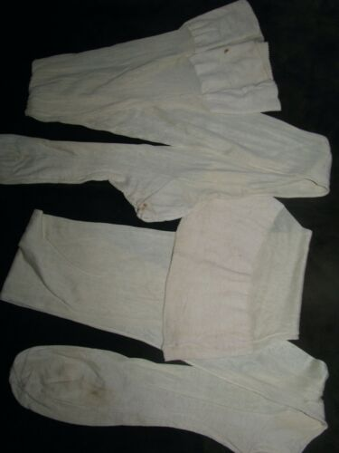 VINTAGE 1920'S  STOCKINGS SILK SEAMED ANTIQUE WHIT