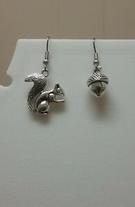 Squirrel-and-acorn-earrings