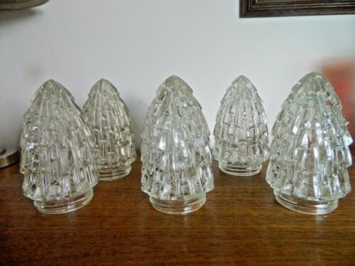 1 of 6 Retro Shades Vintage 60/'s 70/'s Shape Heavy Glass Lamps,Wall Ceiling