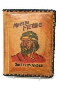 El Gaucho Martin Fierro Jose Hernandez 1956 in Leder Gebunden