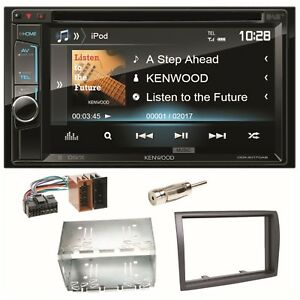 Kenwood-DDX-4017DAB-Bluetooth-DAB-DVD-MP3-Einbauset-fuer-Fiat-Ducato-Boxer-Jumpe