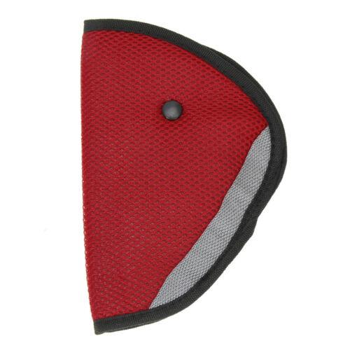 Car Children Safety Cover Harness Strap Adjuster Pad Kids Seat Belt Clip UK