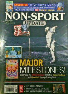 Details about New August/Sept 2019 Beckett Non Sport Update Price Guide  Magazine Sealed Promos