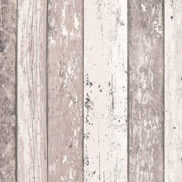 envejecido Panel De Madera Papel pintado ROLLOS Natural - As Creation 855053 CON