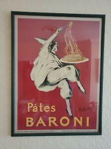 Framed-Pates-BARONI-poster