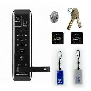 Fingerprint Door Lock H-GANG Guardian TM900 Keyless Lock Digital Entry Pin+RFID