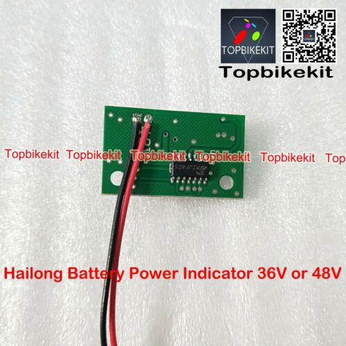 Hailong Battery Power indicator 36V 48V 52V for Hailong batterydisplay indicator