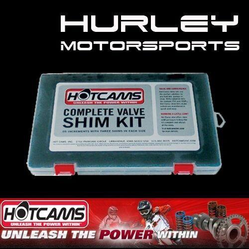 HOTCAMS Valve Shim Kits HCSHIM02 Honda CRF450R 02-14