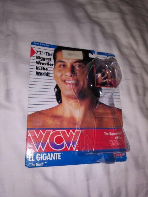 Hasbro WCW El Gigante The Giant UK Card European limited editon 1991 galoob NEW