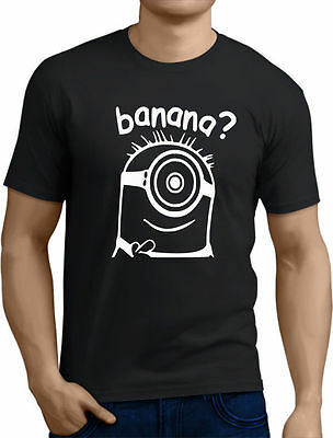 Banana minion T-SHIRT joke funny slogan. Sizes s-m-l-xl-xxl rt11