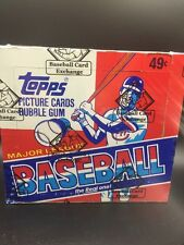 (FRESHLY GRADED) 1982 Topps Baseball Cello Box BBCE Authentic Cal Ripken RC PSA