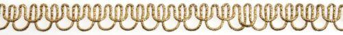 Essential Trimmings trenza decorativa Metálico recorte-por 25 Metro Rollo E...