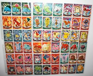 1st-Edition-Series-Pokemon-Topps-TV-Animation-Cards-Foils-U-PICK-Free-Shipping