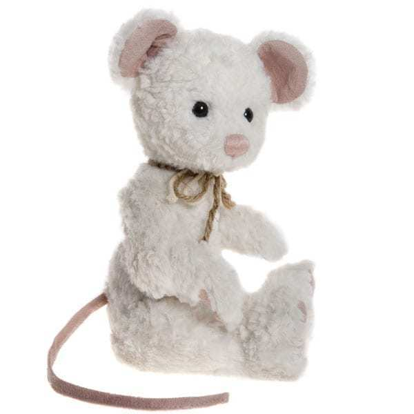 Peeps the Mouse from the 2017 Charlie Bears Collection