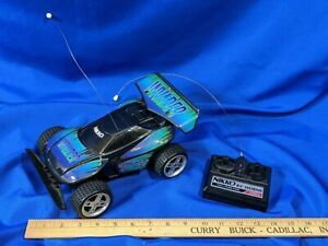 Nikko-Invader-27-MHz-Remote-Control-Toy-RC-Car-Race-Rare-80s-VTG-Toy