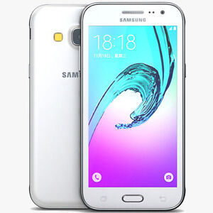Nuovissimo-Samsung-Galaxy-j3-8gb-2016-Bianco-Sbloccato-Smartphone-DUAL-SIM