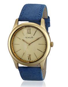 Texus(TXMW016) Blue Strap Watch for Men/Boys