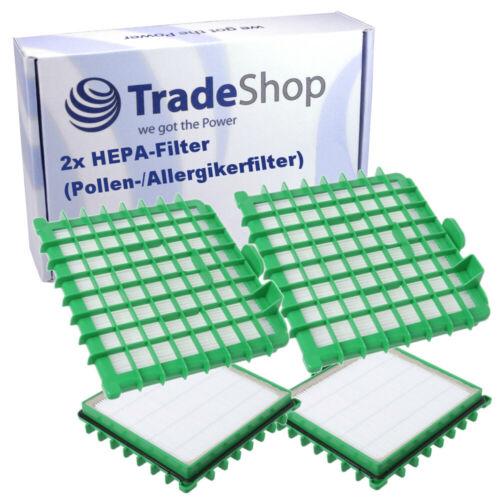2x HEPA pollen //les personnes allergiques Filtre Pour Rowenta ro4449r1410 ro452001410 ro452011