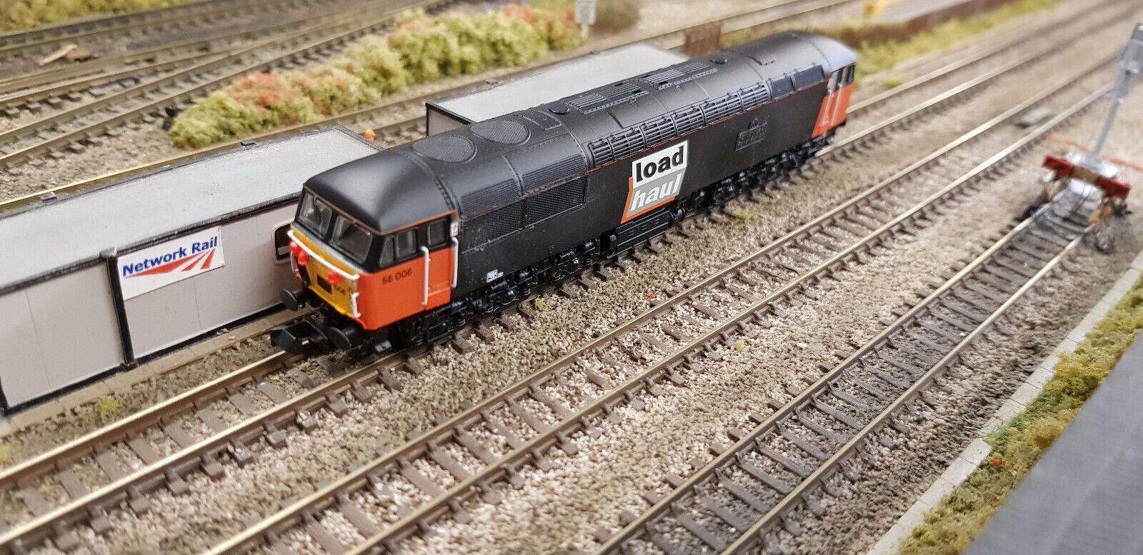2D -004 -000 Dapol N Gage Loaddrag klass 56 006 Ferrybridge Diesel Locomotive