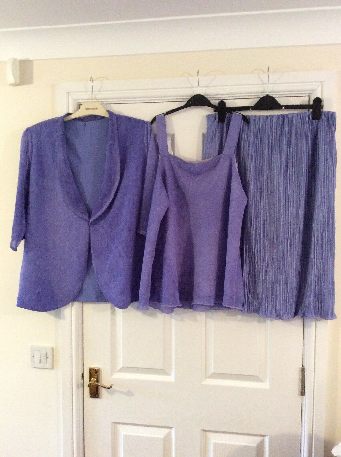 Lilac Wedding Outfit Mother Of The Bride (handmade)