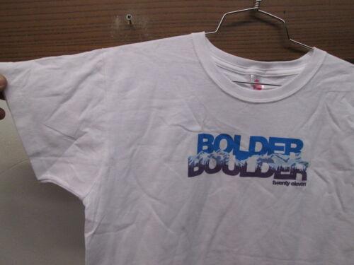 NEW Race Gear 100/% Cotton T-shirt Bolder Boulder 2011 10K tee Memorial Day M