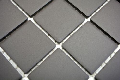 Mosaik Fliese Keramik braun unglasiert Dusche Wand Bad14-CU253/_f10 Matten