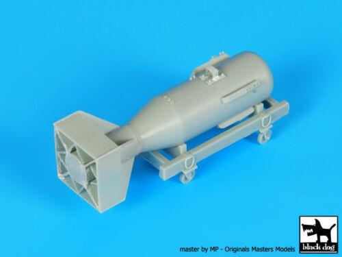 Black Dog 1//48 Little Boy Atom Bomb Resin Kit