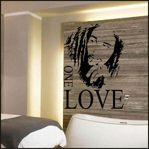 BOB MARLEY LARGE KITCHEN WALL MURAL GIANT ART GRAPHIC STICKER ...