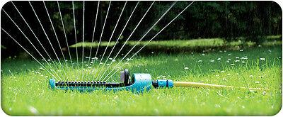 Oscillating Sled Base Sprinkler Hozelock Compatible Plastic Garden Hose Pipe ECO