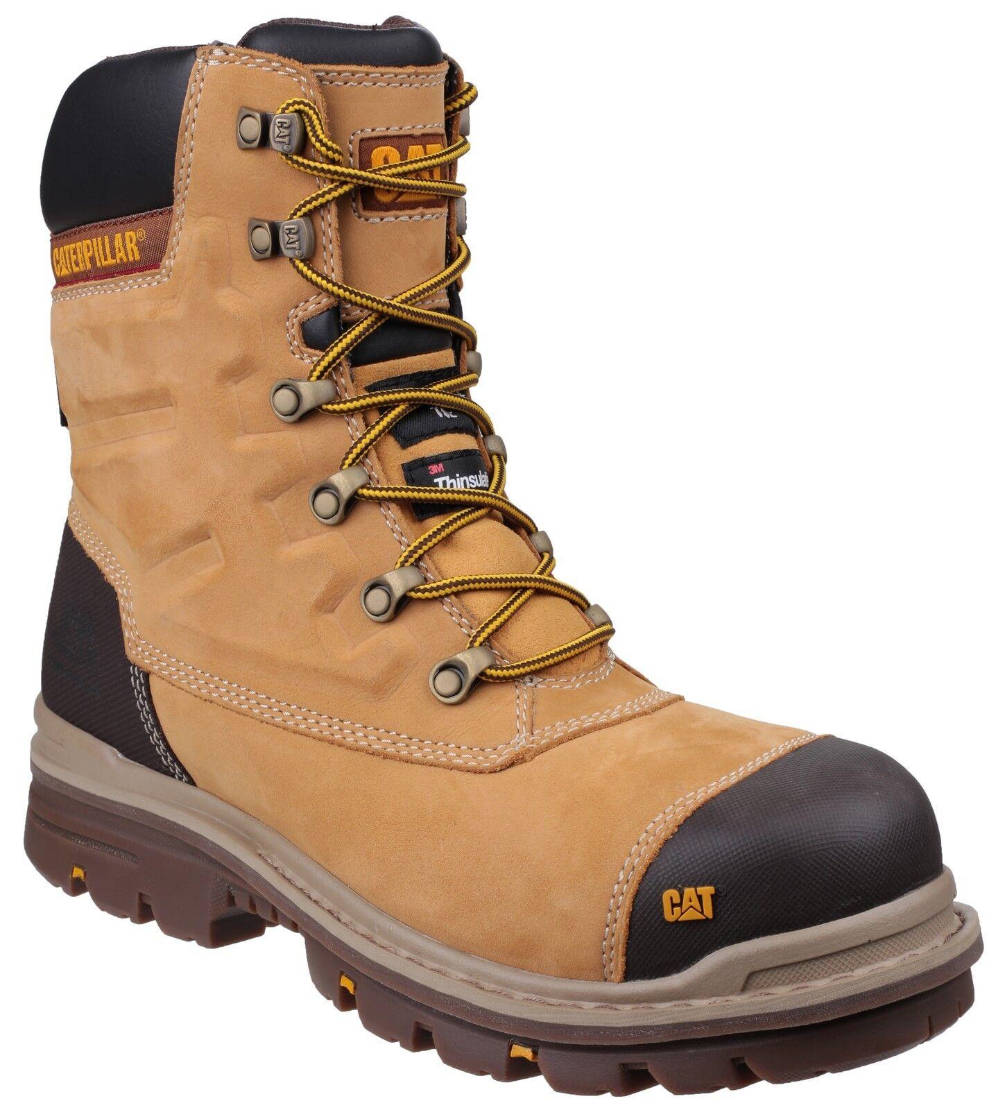 Cat Caterpillar Premier Trabajo Industrial Seguridad Impermeable Miel botas para hombre