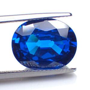 Inhabituel 14x10mm Ovale Bleu Royal Zircone Pierre Précieuse Wibfafl6-07230642-876192629